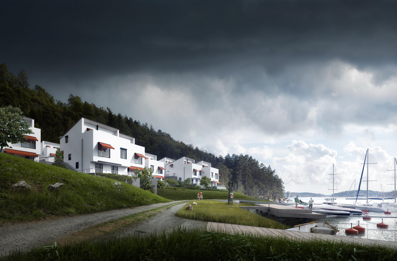 seafront homes in vaxholm  vaxholm white essence mir no